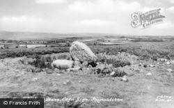 Reynoldston, King Arthur's Stone c.1955