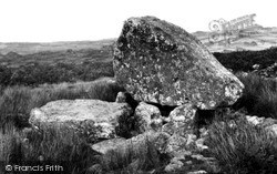 Reynoldston, King Arthur's Stone c.1965