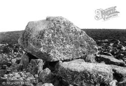 Reynoldston, Moor, King Arthur's Stone 1893