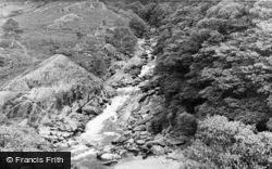 Rhandirmwyn, Maes Y Meddygon Falls c.1955