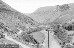 Rhandirmwyn, Ystradffin Valley c.1960