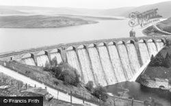 Rhayader, Craig Goch Dam c.1932