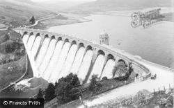 Rhayader, Elan Valley, Craig Goch Dam c.1932