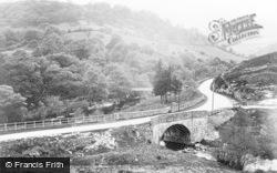 Rhayader, Junction Of Marteg And Wye River c.1932