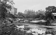 Rhayader, River Wye and the Bridge c1932