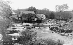 Rhayader, River Wye c.1932