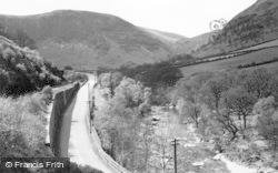 Rhayader, Road, Rail And River Wye, Marteg c.1932