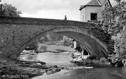 Rhayader, The Bridge c.1968