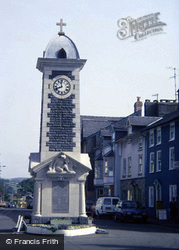 Rhayader, The Clock Tower c.1985