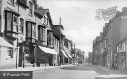 Rhayader, West Street c.1955