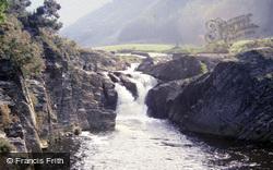 Waterfall c.1985, Rheidol