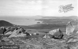Rhiw, Aberdaron Bay From Rhiw c.1955