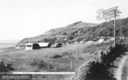 Rhiw, General View Of Camping Site c.1960