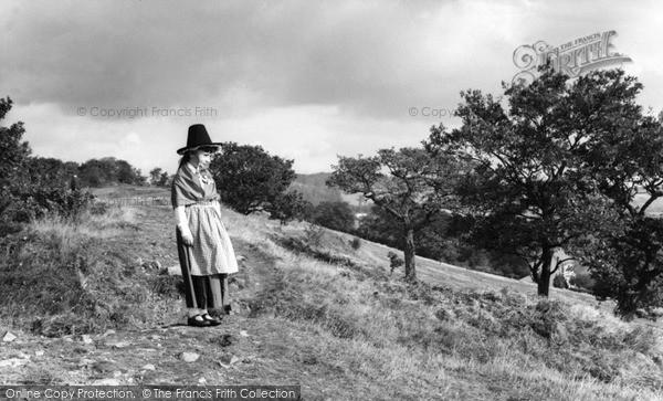 Photo of Rhiwbina, Welsh Girl c.1960