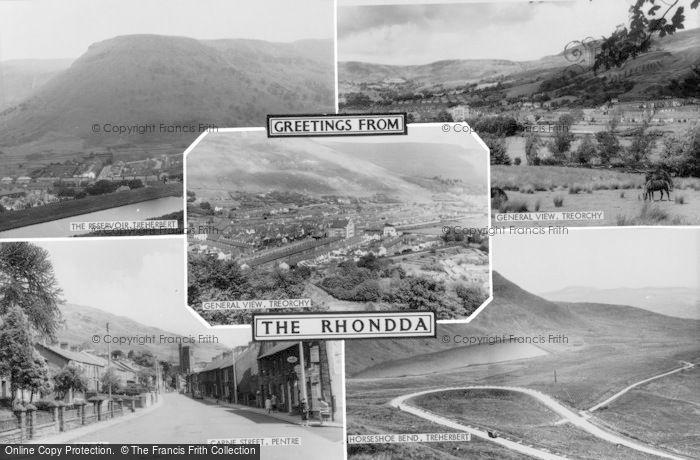Photo of Rhondda, The Rhondda c.1955