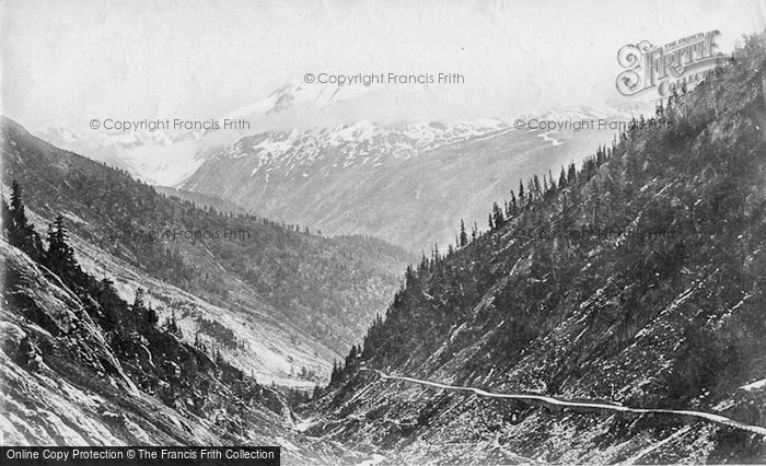 Photo of Rhone Valley, Head Of The Valley c.1875
