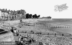 Rhos-on-Sea, Beach c.1960