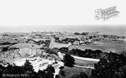 Rhos-on-Sea, From Bryn Euryn 1921
