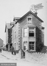Rhos-on-Sea, Post Office 1895