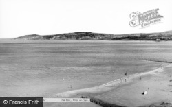 Rhos-on-Sea, The Bay c.1960