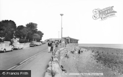 Rhos-on-Sea, The Beach c.1965