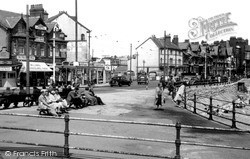 Rhos-on-Sea, The Promenade c.1955