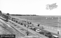 Rhos-on-Sea, The Promenade c.1960