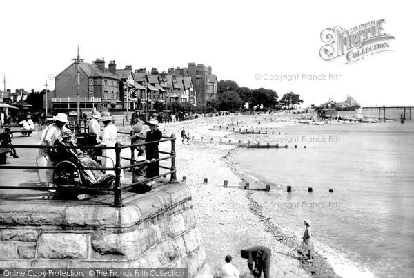 Rhos-on-Sea, the Seafront 1921