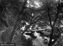 Rhos-Y-Gwaliau, Hirnant Valley, Gilligreen Bridge 1931