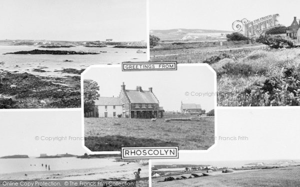 Photo of Rhoscolyn, Composite c.1955