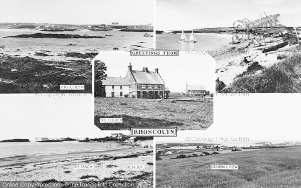 Photo of Rhoscolyn, Composite c.1960