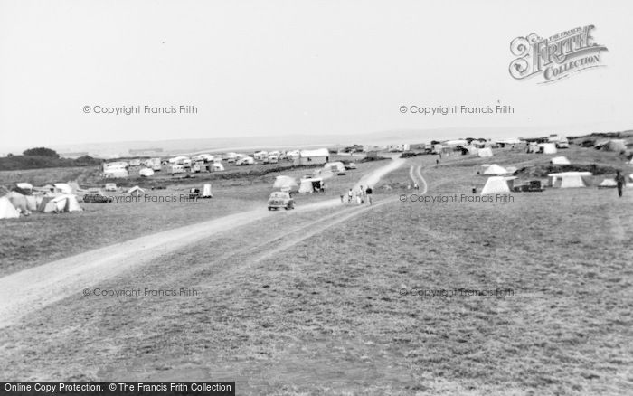 Photo of Rhoscolyn, Silver Bay Caravan Park c.1965