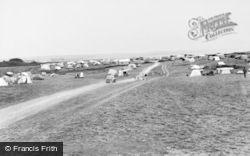 Rhoscolyn, Silver Bay Caravan Park c.1965