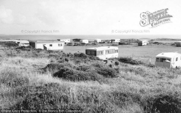 Photo of Rhoscolyn, Silver Bay Caravan Site c.1963