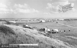 Rhoscolyn, Silver Bay Caravan Site c.1963
