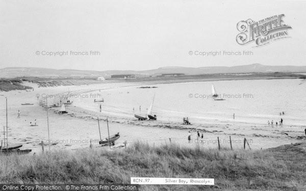 Photo of Rhoscolyn, Siver Bay c.1965