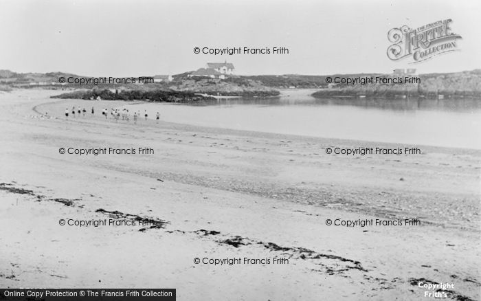 Photo of Rhoscolyn, The Beach c.1955