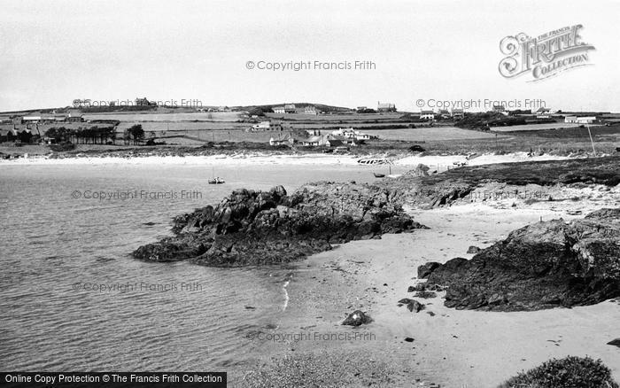Photo of Rhoscolyn, The Beach c.1960