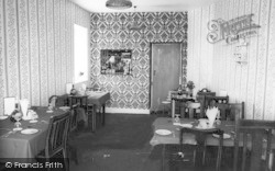 Rhoscolyn, The Dining Room, Gwynfryn Hotel c.1960