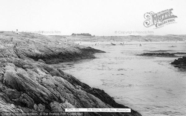 Photo of Rhoscolyn, The Rocks, Silver Bay c.1965