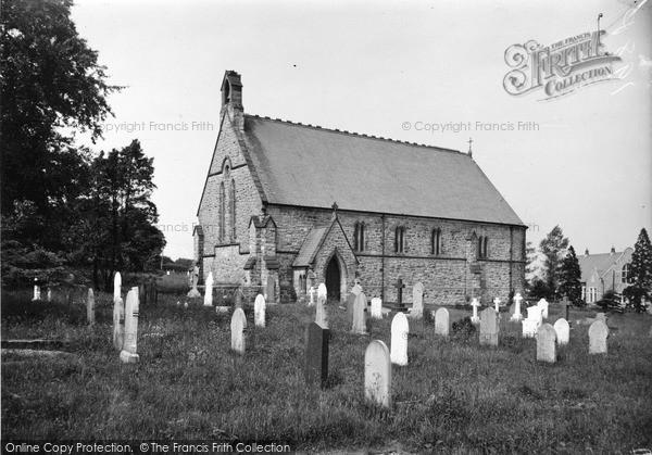 Photo of Rhosesmor, St Paul's Church 1936