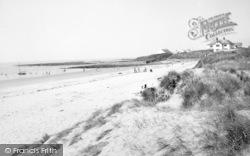 Rhosneigr, Broad Beach c.1955