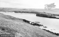 Rhosneigr, Cable Bay c.1960