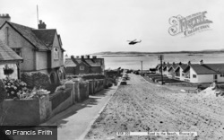 Rhosneigr, Road To The Beach c.1965