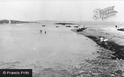 Rhosneigr, The Boating Pool c.1955