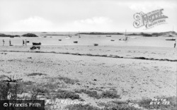 Rhosneigr, The Boating Pool c.1960