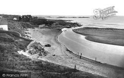 Rhosneigr, The Estuary c.1935