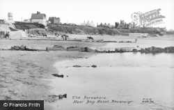 Rhosneigr, The Foreshore Near Bay Hotel c.1936