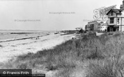 Rhosneigr, The Front Beach c.1960