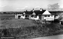 Rhosneigr, The Golf Club House c.1960